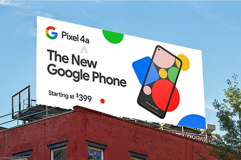 Google Pixel 4a (תמונה: gsmarena)