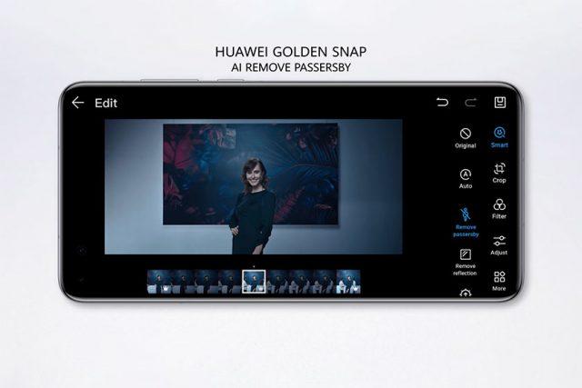 Huawei P40 Pro Golden Snap (תמונה: Huawei)