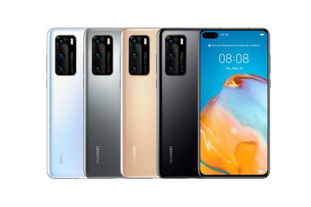 Huawei P40 (תמונה: Winfuture)