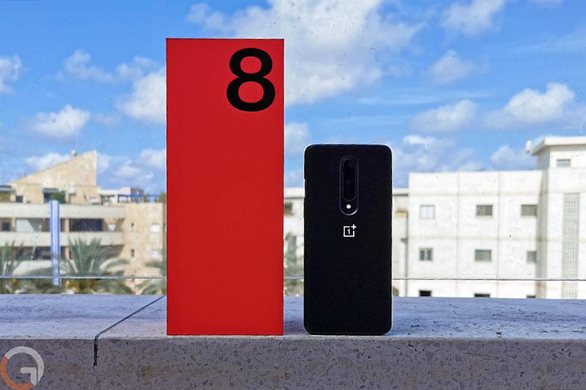 OnePlus 8 (צילום: רונן מנדזיצקי, גאדג'טי)