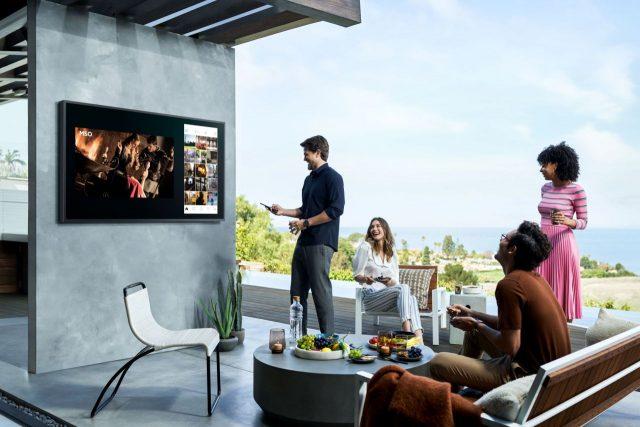 סמסונג מכריזה על The Terrace – טלוויזיות QLED 4K עמידות במים ואבק