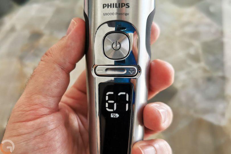 מכונת גילוח Philips S9000 Prestige (צילום: רונן מנדזיצקי, גאדג'טי)
