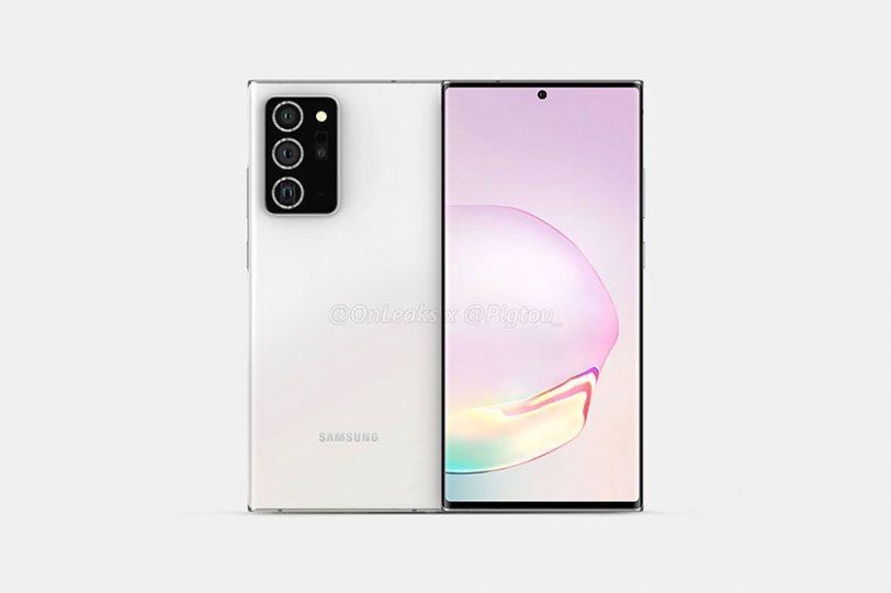 Samsung Galaxy Note 20 Plus (תמונה: pigtou)