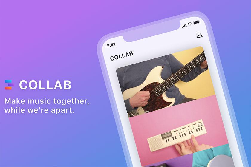 אפליקציית Collab (תמונה: Facebook)