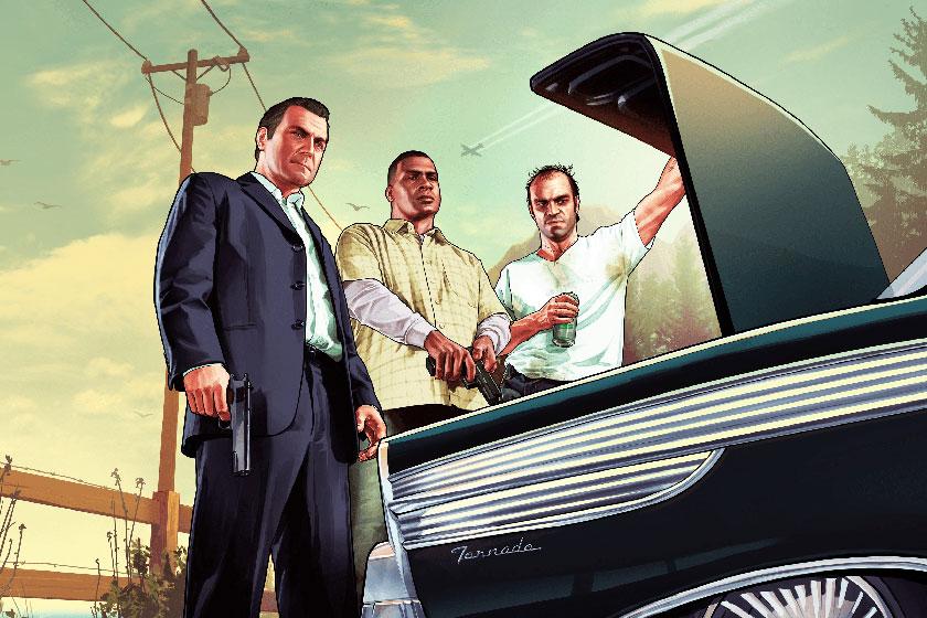 GTA V (תמונה: Rockstar / Epic)