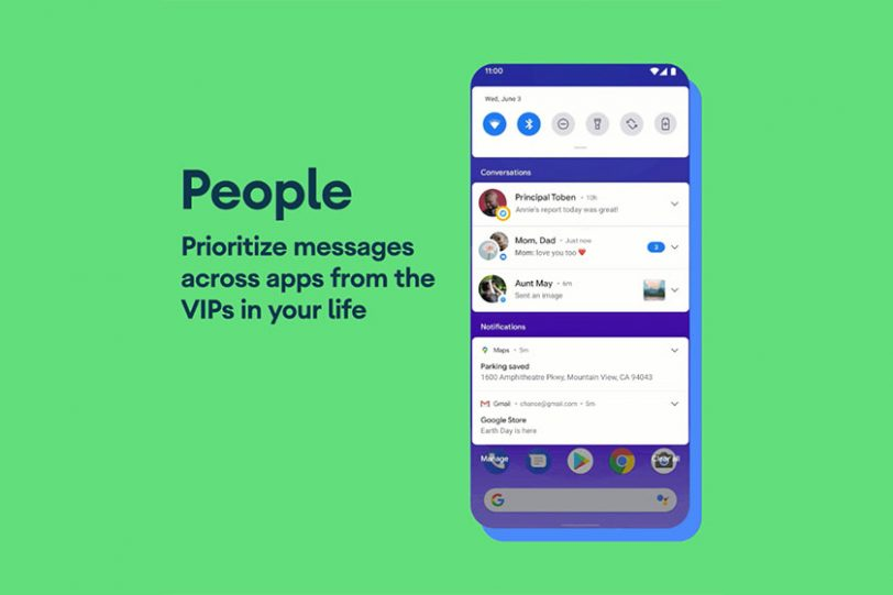 Android 11 Beta (תמונה: גוגל)