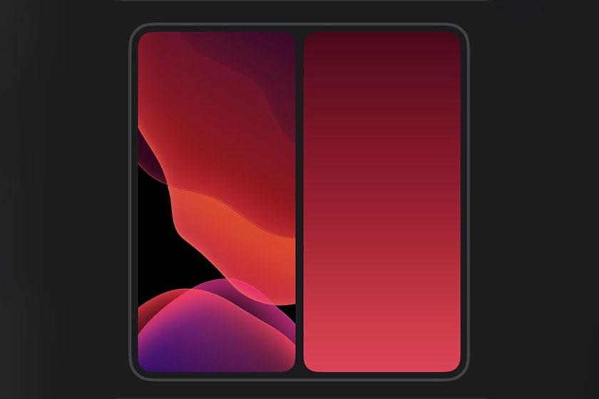 Apple Foldable Smartphone (תמונה: LrLuc_666 / Twitter)