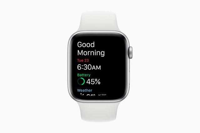 מעקב שינה ב-WatchOS 7 (תמונה: אפל)