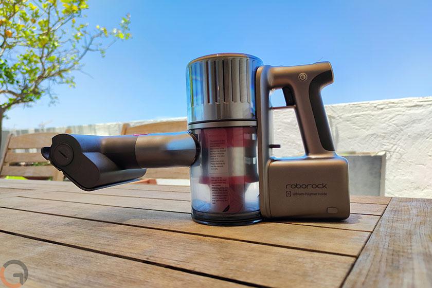 שואב אבק נייד Roborock H6 (צילום: רונן מנדזיצקי, גאדג'טי)