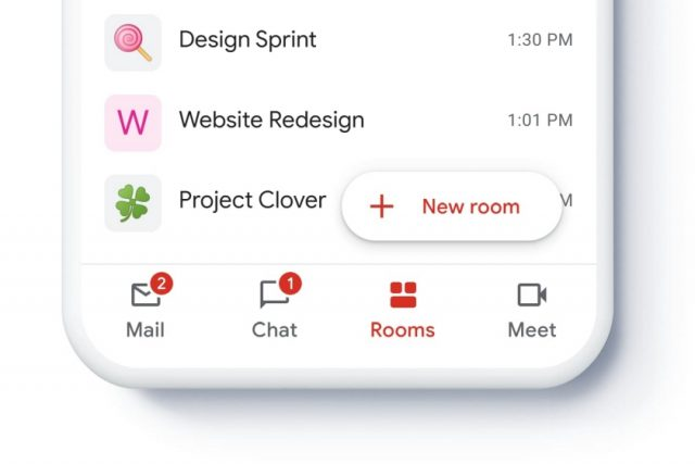 גוגל משדרגת את Gmail עם אפשרות צ'אט ועבודה משותפת