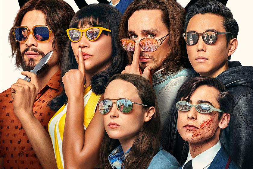 אקדמיית המטריה (תמונה: Netflix)