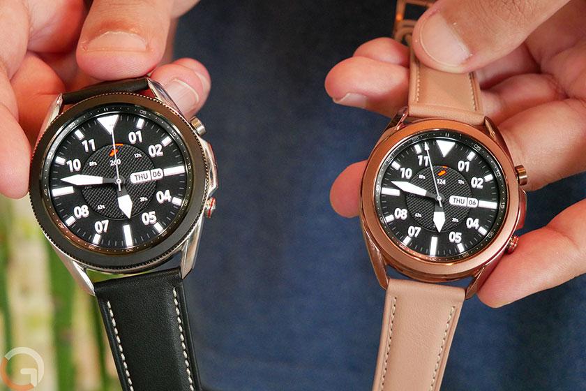 Galaxy Watch 3 (צילום: רונן מנדזיצקי, גאדג'טי)