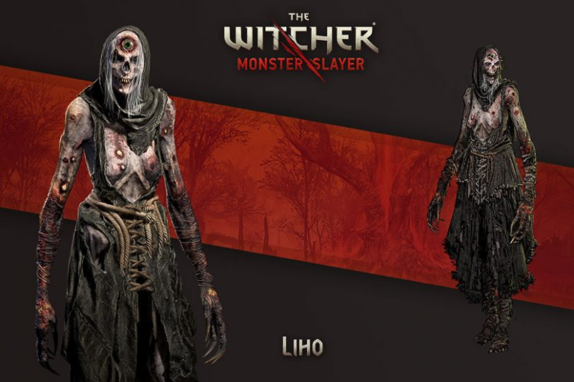 Liho מתוך The Witcher: Monster Slayer (תמונה: Spokko / CD Projekt)