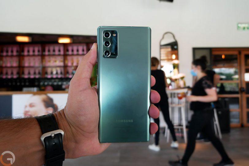 Galaxy Note 20 (צילום: רונן מנדזיצקי, גאדג'טי)