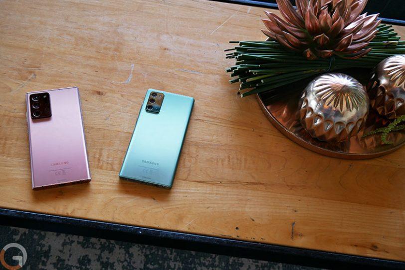 סדרת ה-Galaxy Note 20 (צילום: רונן מנדזיצקי, גאדג'טי)