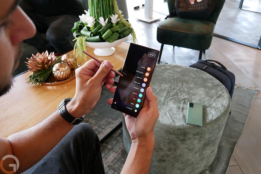 Galaxy Note 20 Ultra (צילום: רונן מנדזיצקי, גאדג'טי)