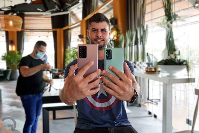 הצצה ראשונה: Samsung Galaxy Note 20 ו-Galaxy Note 20 Ultra – מרשימים ושונים