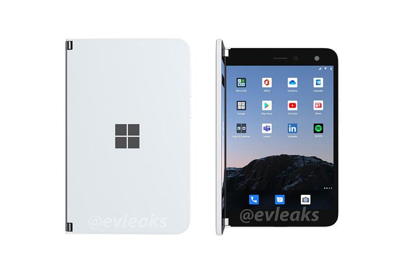 Surface Duo (תמונה: Evan Blass)