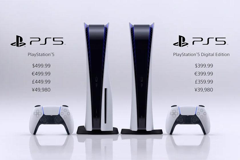 מחירי ה-PS5 (תמונה: Sony)