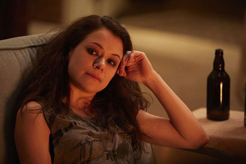 """טטיאנה מסלני מתוך """"אורפן בלאק"""" (תמונה: BBC America)"""