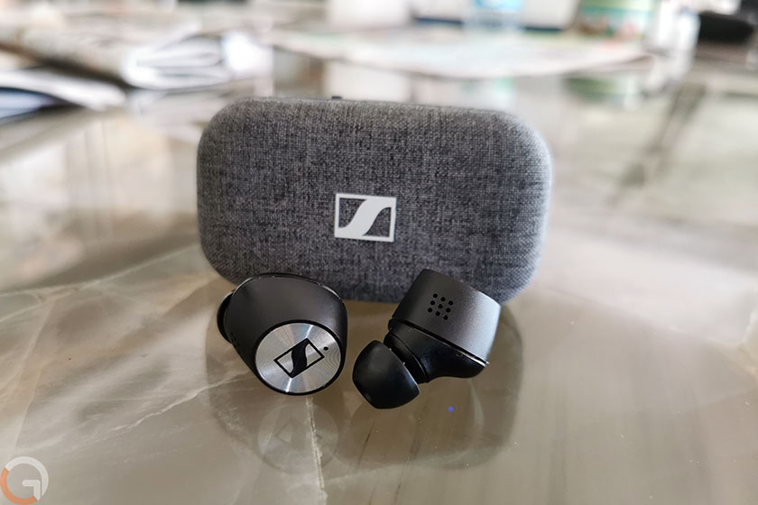 אוזניות Senheiser Momentum True Wireless 2 (צילום: רונן מנדזיצקי, גאדג'טי)