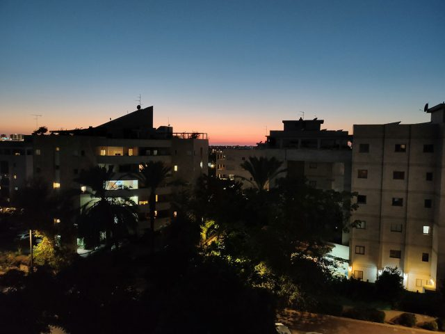 צילום בלילה (צילום: רונן מנדזיצקי)