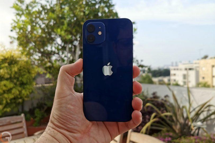 אייפון 12 (צילום: רונן מנדזיצקי)