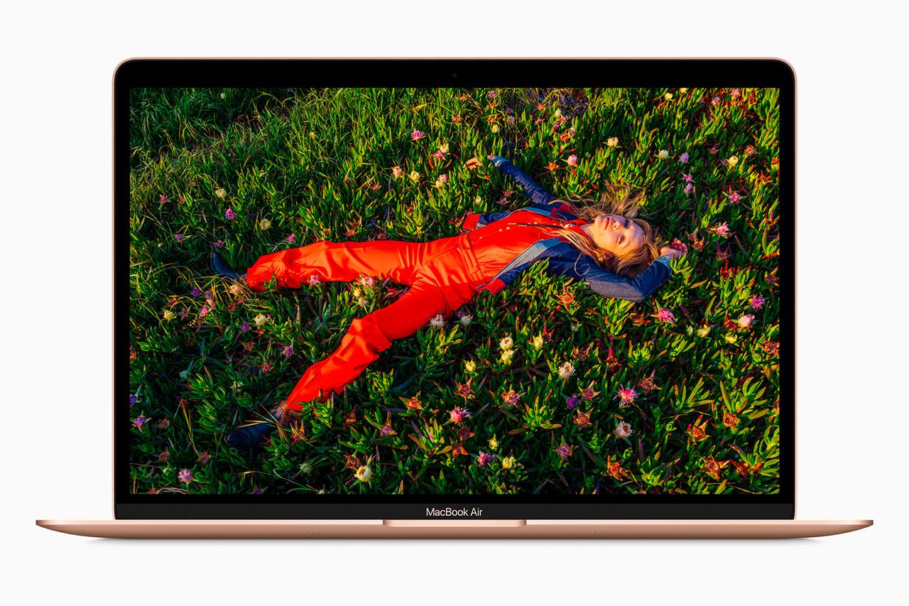 Macbook Air עם שבב Apple M1 (תמונה: Apple)