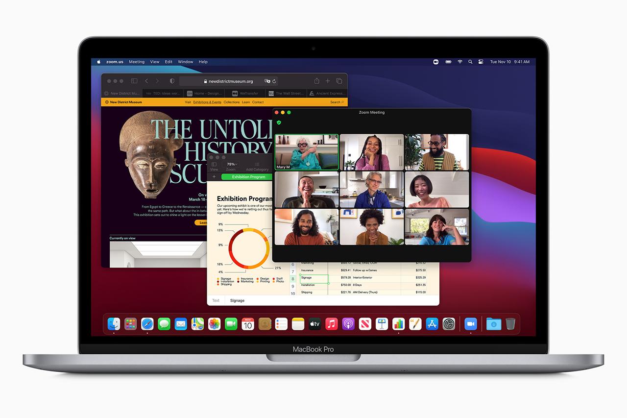 מערכת ההפעלה macOS Big Sur (תמונה: Apple)