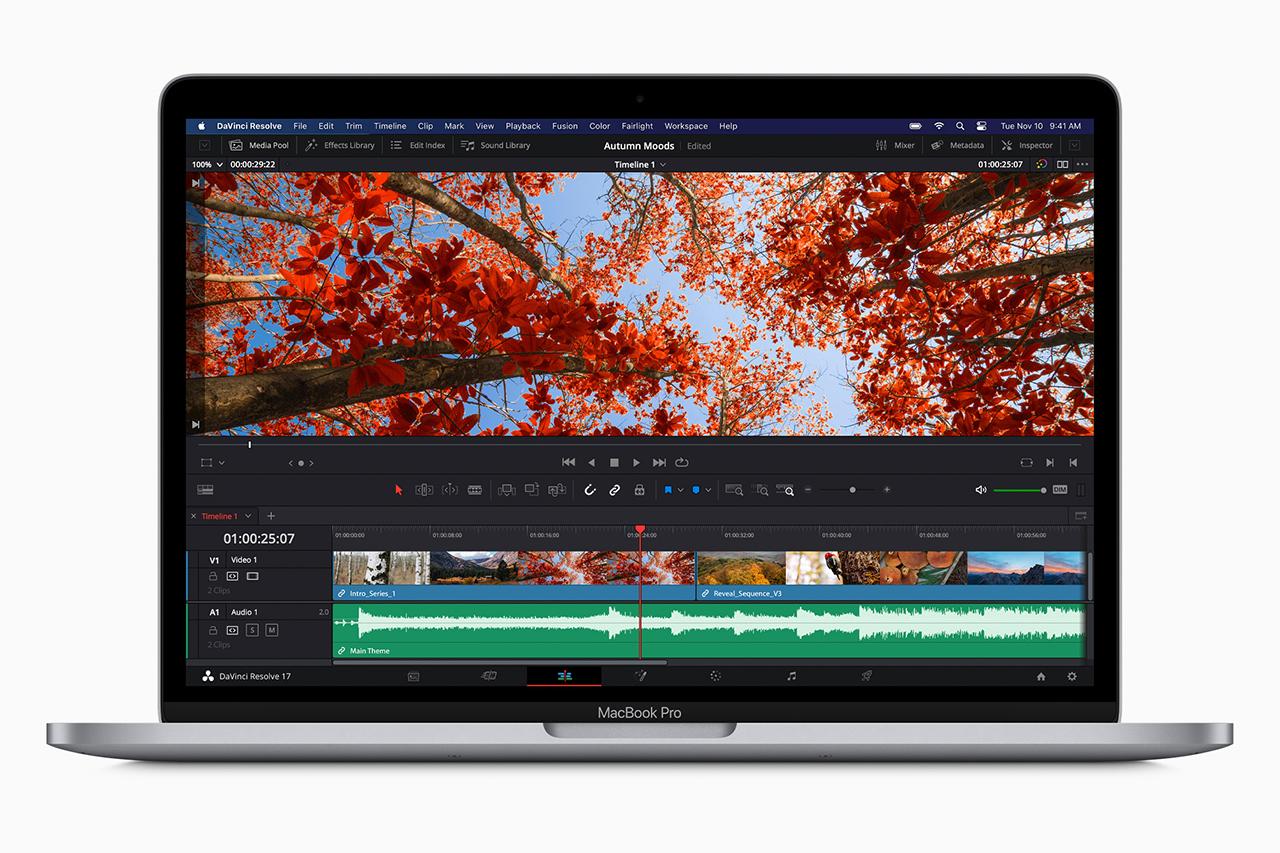 Macbook Pro 13 עם שבב Apple M1 (תמונה: Apple)