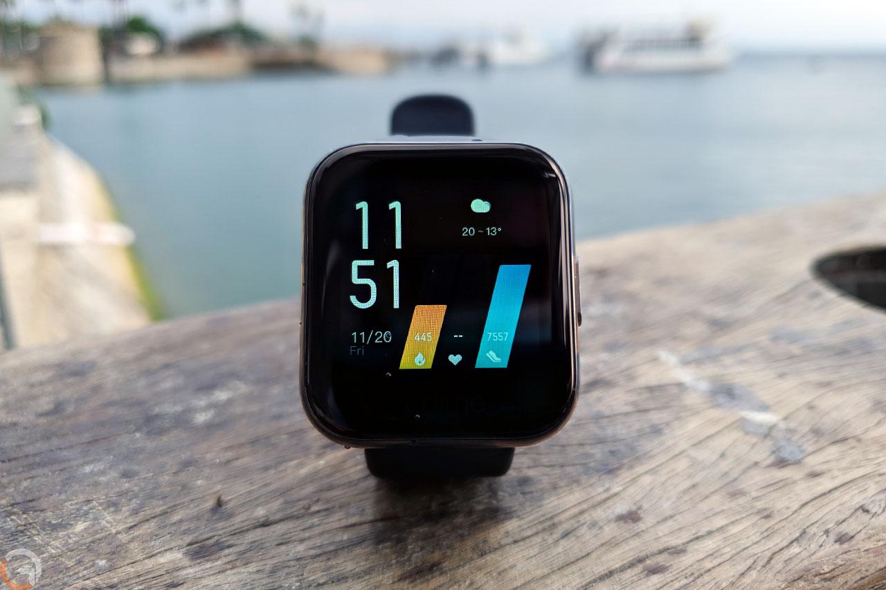 Realme Watch (צילום: יאן לנגרמן, גאדג'טי)