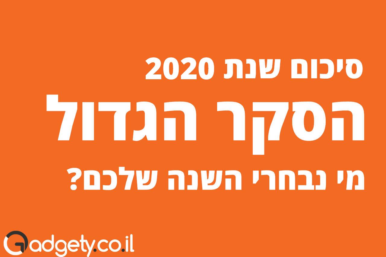 סקר סיכום 2020
