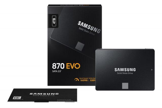 סמסונג הכריזה על ה-Samsung 870 EVO SSD – הדור החדש של כונני ה-SSD SATA