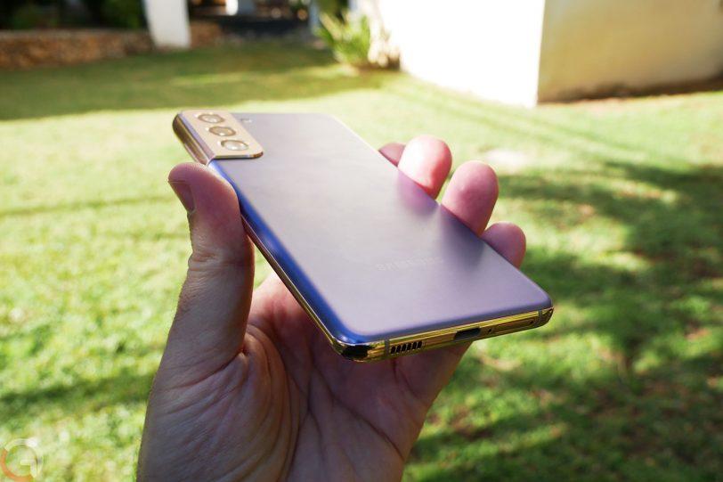 Samsung Galaxy S21 5G (צילום: רונן מנדזיצקי)
