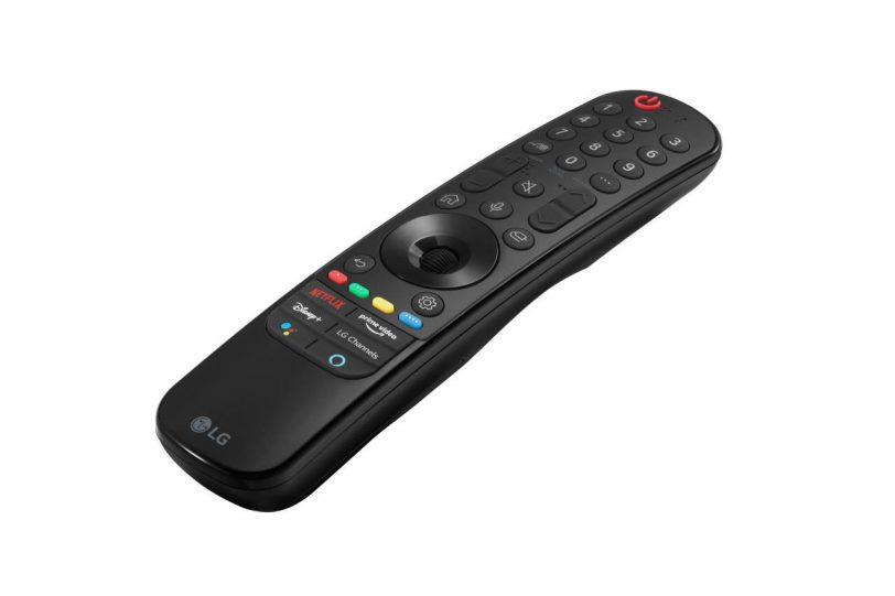 שלט Magic Remote 2021 (תמונה: LG)