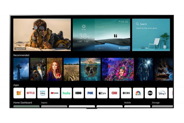 חברת LG מכריזה על ממשק הטלוויזיות WebOS 6.0 יחד עם שלט חדש
