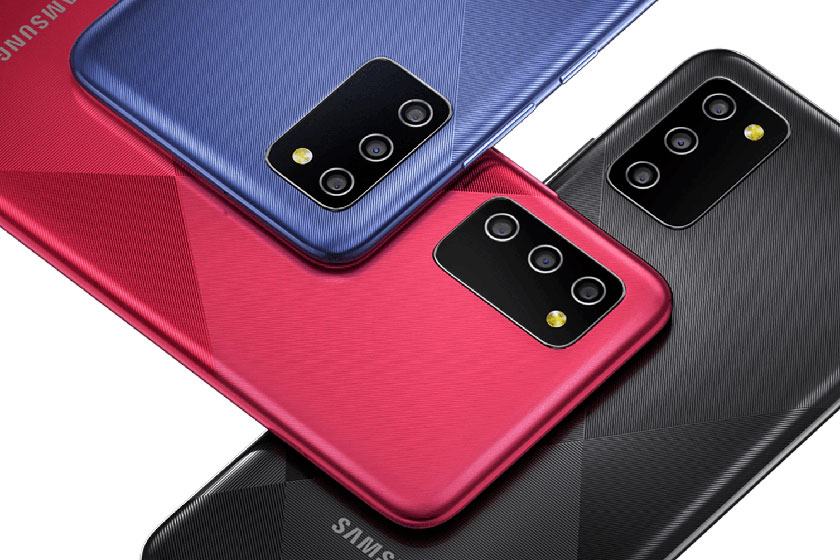 Samsung Galaxy M02s (תמונה: סמסונג)