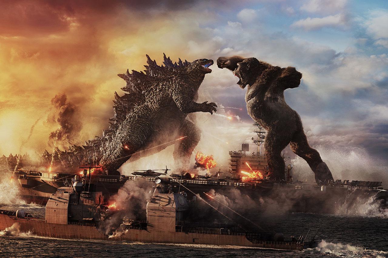 גודזילה נגד קונג (תמונה: Warner Bros)