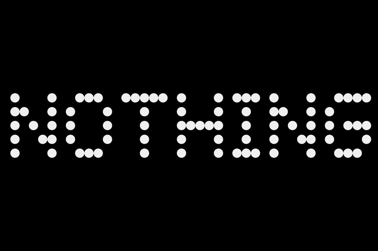 לוגו Nothing