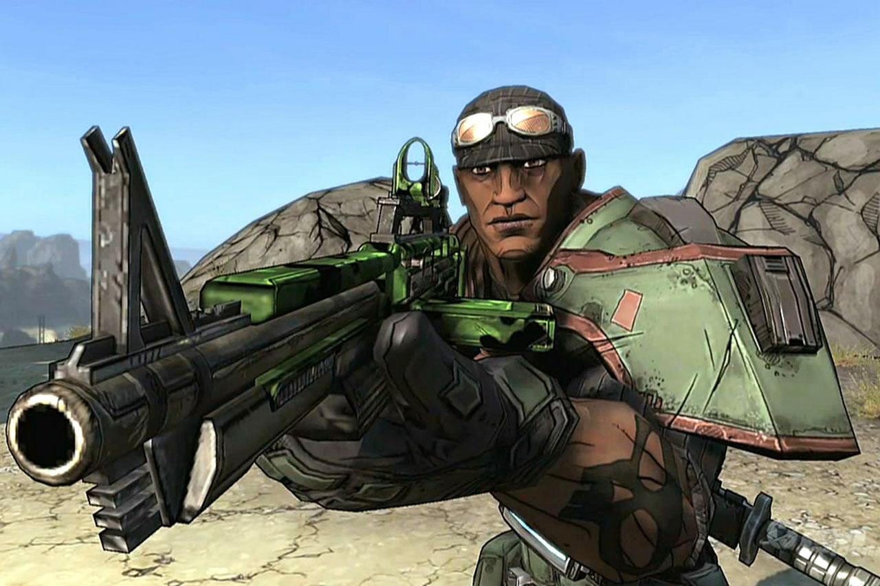 """דמותו של רולנד החייל מתוך """"Borderlands"""" (תמונה: Gearbox)"""