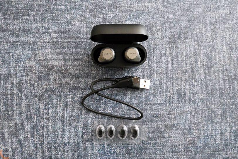 אוזניות Jabra Elite 85t (צילום: רונן מנדזיצקי)