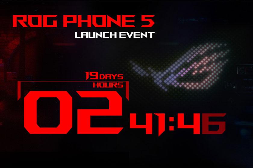 הזמנה לאירוע ROG Phone 5