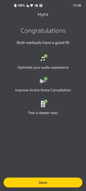 אפליקציית Sound Plus (צילומסך)