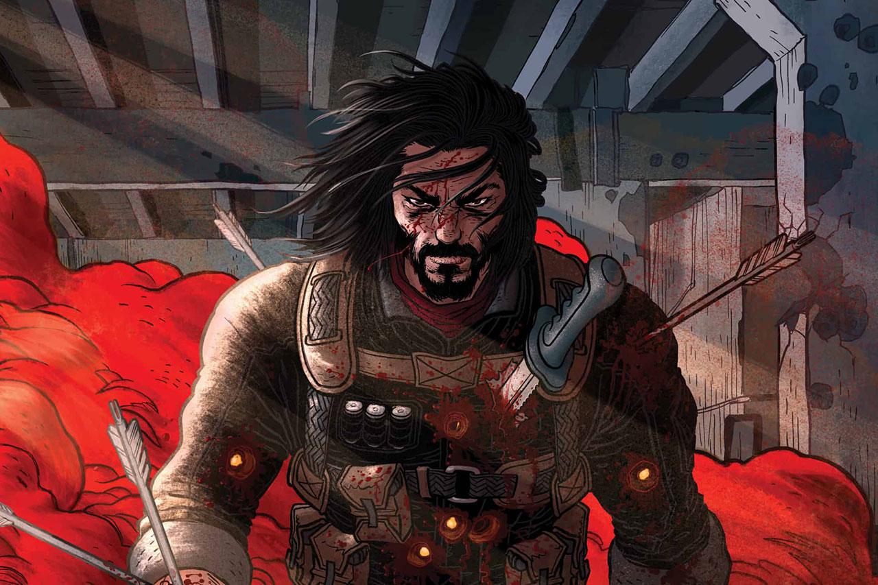 מתוך BZRKER Comics (תמונה: BOOM! Studios)