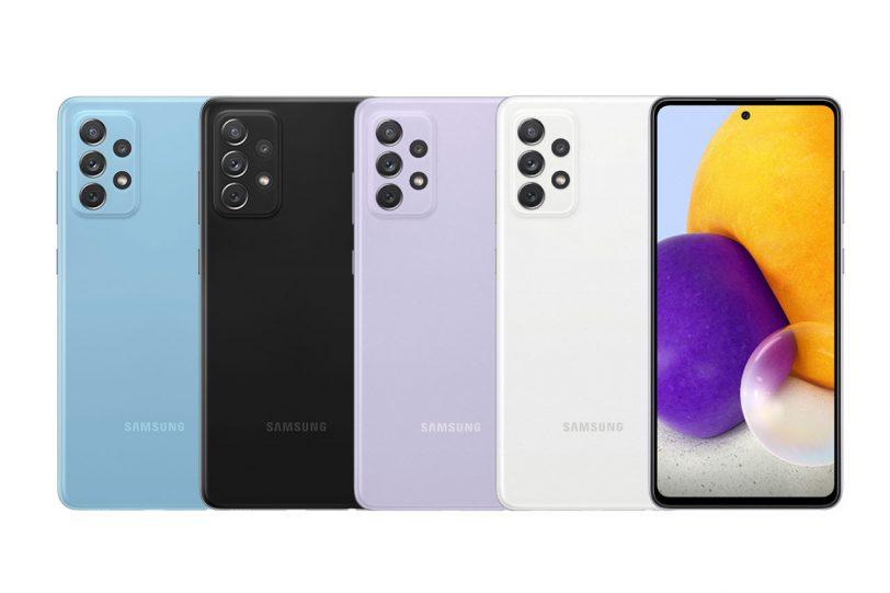 Galaxy A72 (תמונה: Samsung)