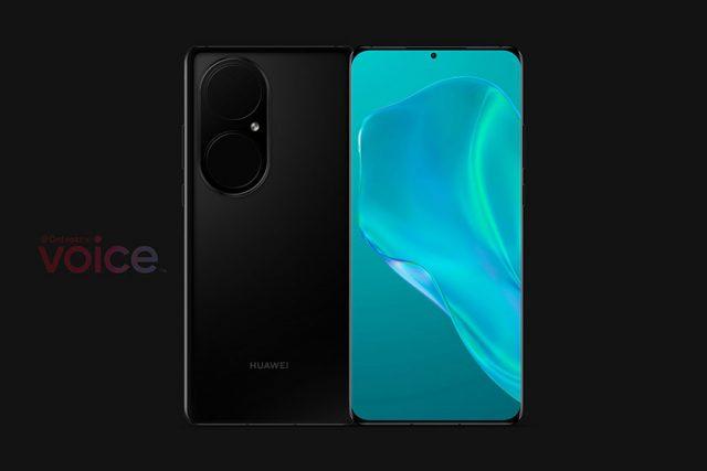 Huawei P50 Pro (תמונה: Voice / OnLeaks)