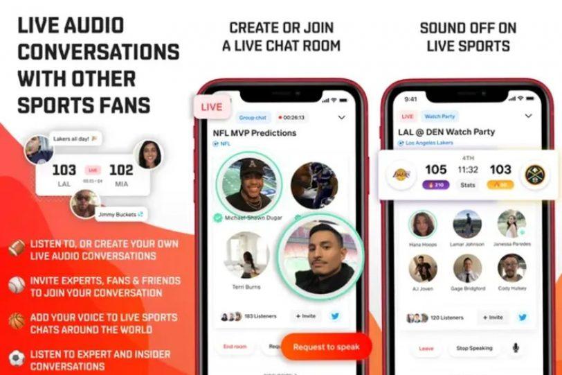 אפליקציית Locker Room (מקור App Store)