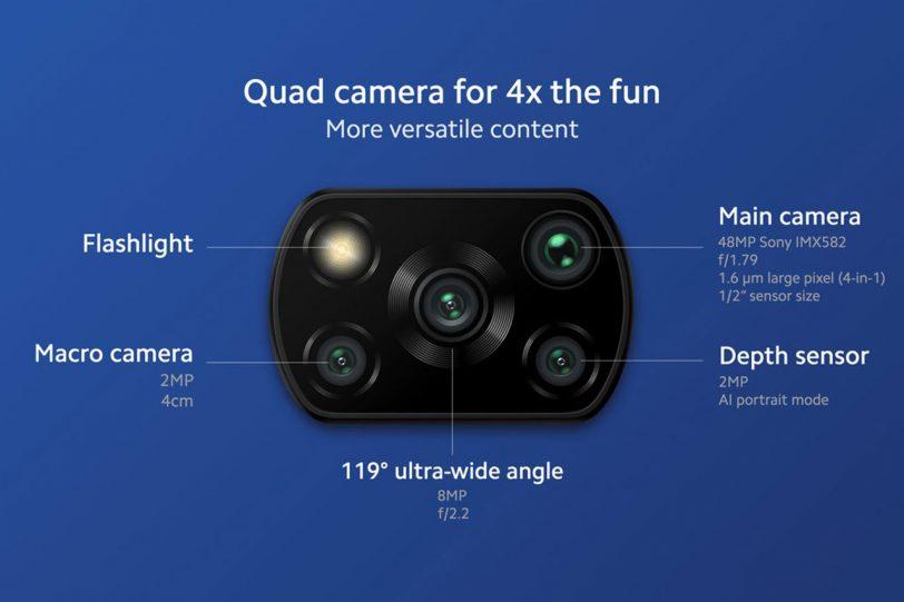 מערך צילום Poco X3 Pro (תמונה: Xiaomi / Poco)