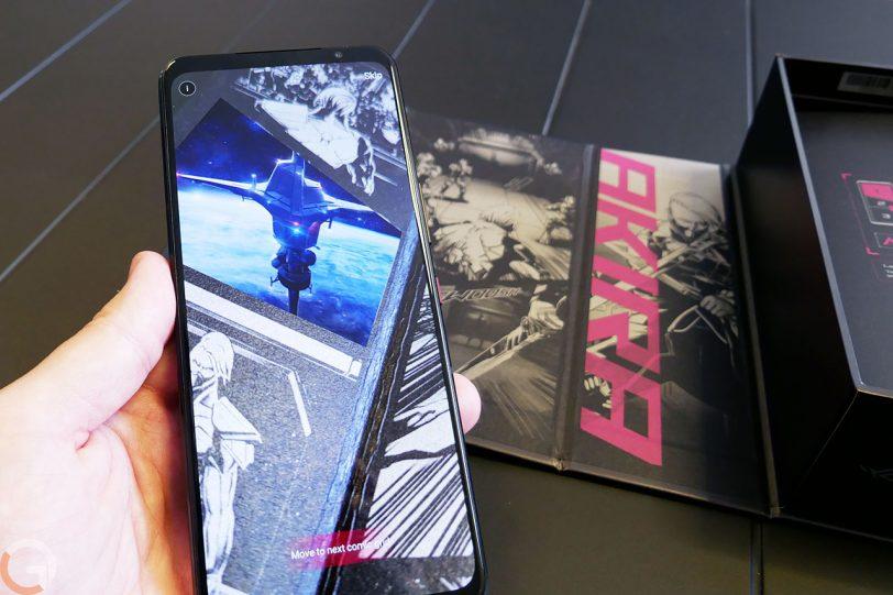ASUS ROG Phone 5 (צילום: רונן מנדזיצקי)