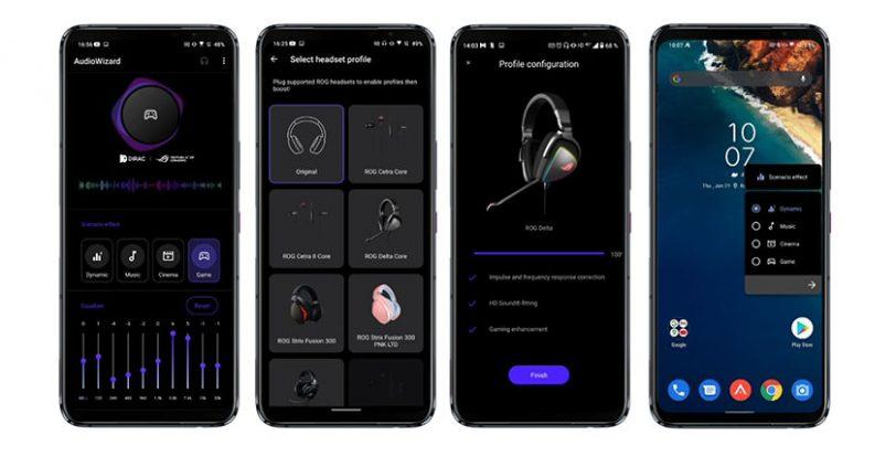 אפליקציית AudioWizard (תמונה: ASUS)